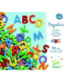 Djeco 83 Petites lettres Magnetic's en bois