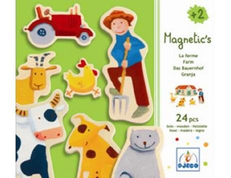 Djeco Magnetic's La Ferme