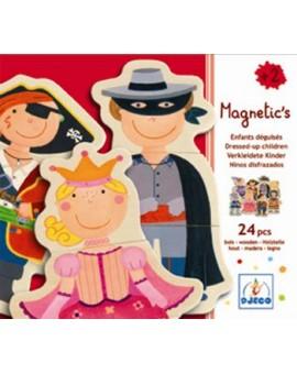 Djeco Magnetic's Enfants Déguisés