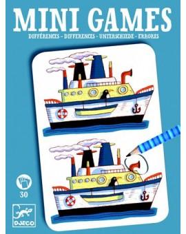 Djeco Mini games - Les différences de Rémi