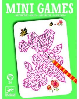 Djeco Mini Games - Les Labyrinthes D'Ariane