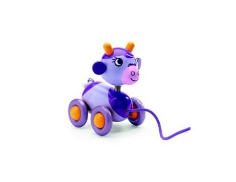Djeco Jouet à tirer Cow Cow