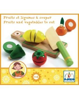 Djeco Fruits et légumes à couper