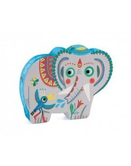C.T. 24 pièces - Éléphant d'Asie