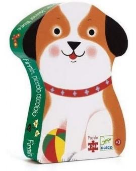 Puzzle DJECO 24 Pcs (chien)