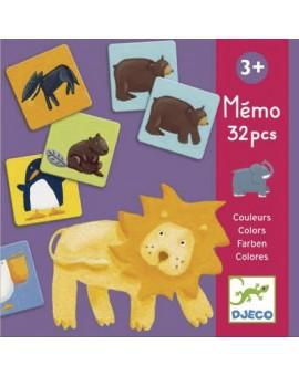 Memo animaux couleurs - DJECO