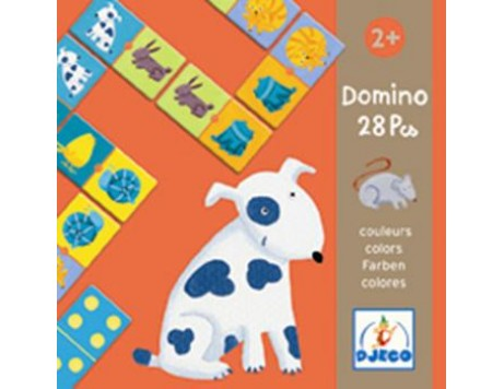 Djeco Dominos Animaux Couleur