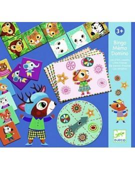 Bingo Memo Domino Petits Copains