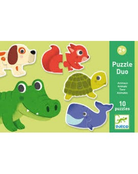 Dj Puzzle Duo Animaux N20