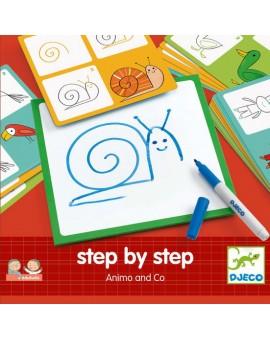 Djeco Step By Step Animaux & Co.