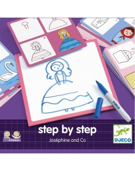 Djeco Step by Step Josephine & Co