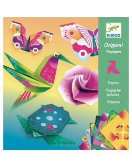 Origami tropiques DJECO