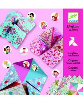 Djeco papier d'origami Cocottes