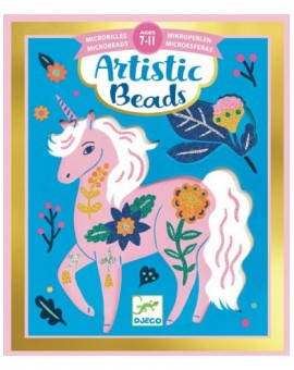 Microbilles toison de fleurs Artistic Beads - Djeco
