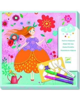 Feutres magiques - Les jolies robes de Marie (DJECO)