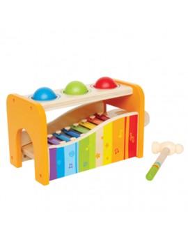 Hape Tape la balle avec xylophone