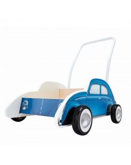 Hape - Trotteur coccinelle bleu