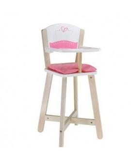 Hape Chaise-haute pour poupée