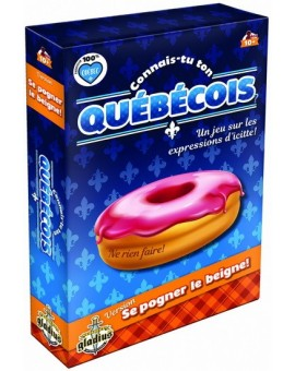 Connais-tu Ton Quebecois? Se Pogner Le Beigne N20