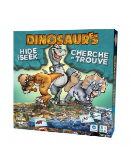 Cherche Et Trouve Dinosaures N18