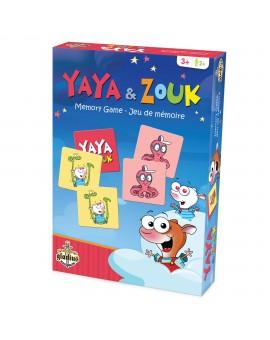 Jeu de mémoire Yaya et Zouk