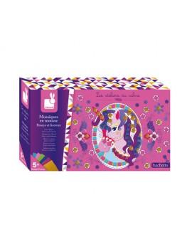Janod Mosaiques Pony Et Licorne