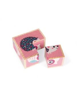 Janod C.t.mes Premiers Cubes Animaux