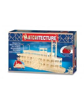 Matchitecture Bateau du Mississippi