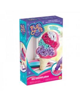 PlushCraft - Oreiller - Cornet de crème glacée