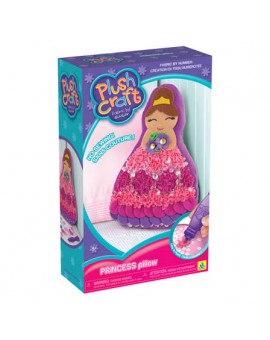 Oreiller à décorer Princesse Plushcraft