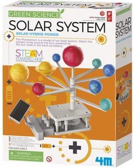 4m Planetarium Du Systeme Solaire Motorise N20