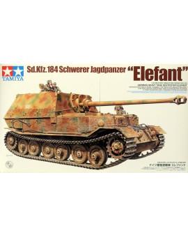 Modèle à coller Elefant Heavy Tank